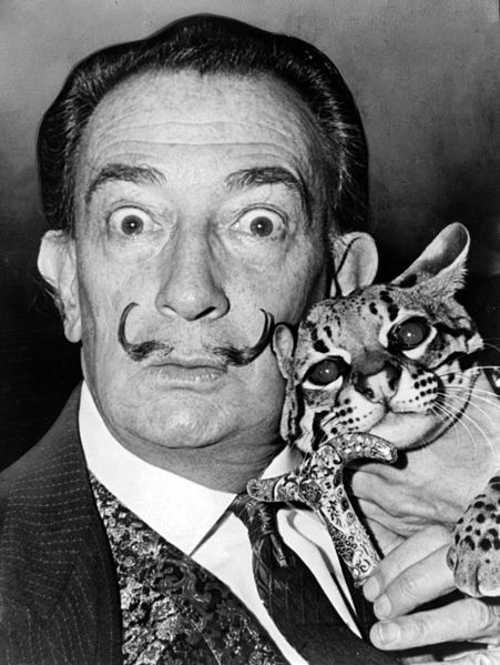 Dali and Babou at St. Regis