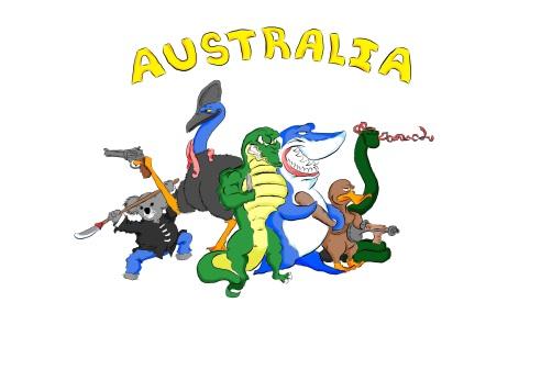 Australia, land of awesome!