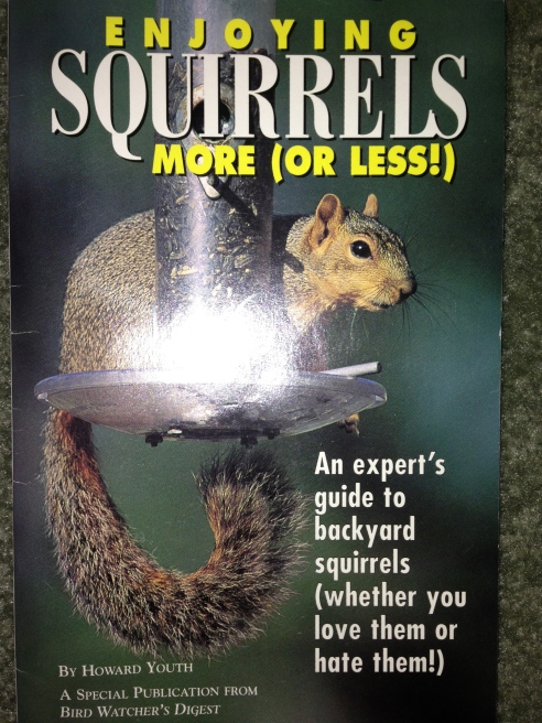 Rhetorical question: who doesn't want a book about squirrels?