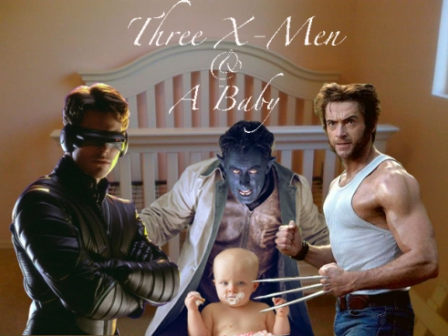 """For these three mutant dads aberrant DNA is the least of their concerns"""